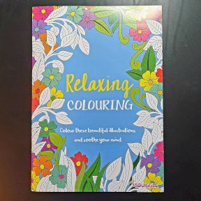 Therapeutic Adult Colouring Books, Relaxing