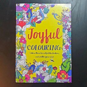 Therapeutic Adult Colouring Books, Joyful