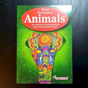Therapeutic Adult Colouring Books, Animals