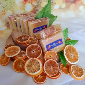 Slice of Sunshine - Handcrafted Sliced Citrus Soap, ancient wisdom SLHCS-06